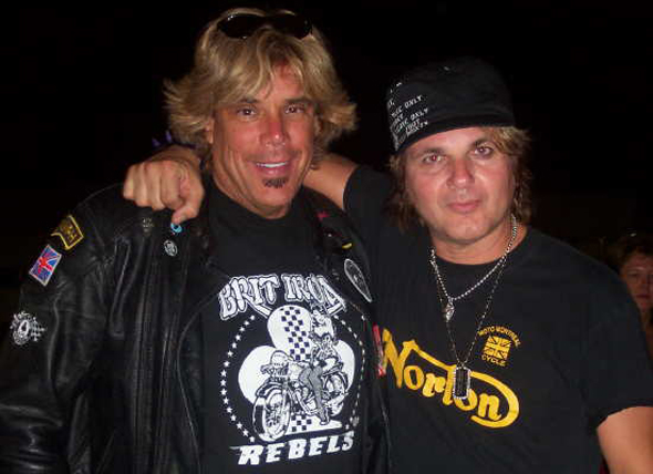 Johnny Hairdo and Rikki Rockett